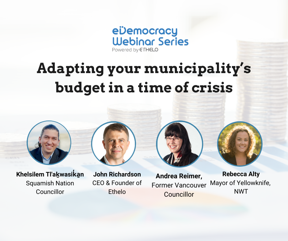 Adapt your municipality's budget in a time of crisis