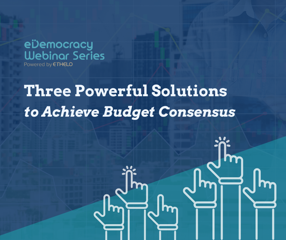 Three Powerful Solutions to Achieve Budget Consensus